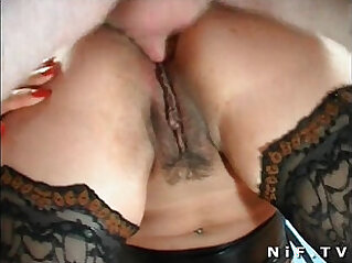 Amateur french swingers doing anal sex